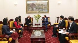 Bộ trưởng Đào Ngọc Dung: Quan hệ Việt Nam – Nhật Bản ngày càng thiết thực và có chiều sâu