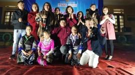 Tạp chí Lao động và Xã hội mang Mùa Xuân đến với trẻ em vùng cao Yên Bái