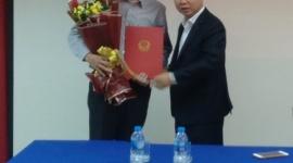 Thứ trưởng Lê Tấn Dũng trao Quyết định Bổ nhiệm tân Phó Giám đốc Trung tâm Kiểm định An toàn Lao động khu vực II
