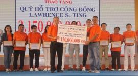 Đi bộ từ thiện Lawrence S. Ting lần thứ 15 – 2020: Hơn 3,1 tỷ đồng hỗ trợ cho người có hoàn cảnh khó khăn