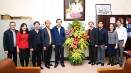 Bộ trưởng Đào Ngọc Dung chúc mừng Đảng bộ Bộ nhân Kỷ niệm 90 năm Ngày thành lập Đảng Cộng sản Việt Nam