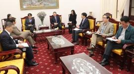 Thứ trưởng Lê Văn Thanh tiếp thân mật ông Chang Hee Lee, Giám đốc ILO Việt Nam