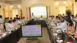 Bộ trưởng Đào Ngọc Dung thăm và làm việc với tỉnh Đồng Tháp