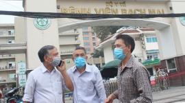 Hà Nội rà soát được 25.305 trường hợp liên quan đến Bệnh viện Bạch  Mai