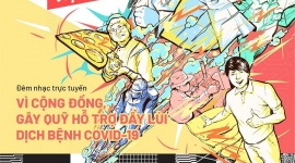 """Đêm nhạc trực tuyến gây quỹ phòng, chống và đẩy lùi đại dịch Covid – 19 """"Kiên cường Việt Nam – Stay strong Viet Nam"""""""