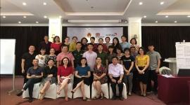 Quảng Ninh: Tập huấn nâng cao năng lực về mô hình thăm hộ cho cán bộ các cấp và cộng tác viên công tác xã hội