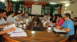 Đoàn giám sát của Hội đồng nhân dân TP.HCM làm việc với Sở LĐ - TBXH TP về tình hình thực hiện chính sách BHXH và BHTN