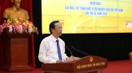 """Phát động Giải Báo chí toàn quốc """"Vì sự nghiệp Giáo dục Việt Nam năm 2020"""""""