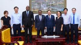 Tăng cường hợp tác với Angola về lao động và an sinh xã hội