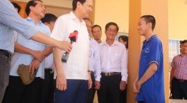 Bộ trưởng Đào Ngọc Dung kiểm tra cơ sở cai nghiện Tiền Giang