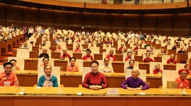 "Heroic Vietnamese Mothers are ""shining examples of revolutionary heroism"": NA Chairwoman"