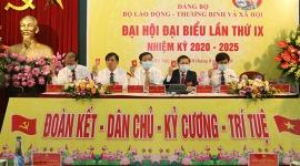Bộ LĐTB&XH tổ chức Đại hội Đại biểu Đảng bộ lần thứ IX, nhiệm kỳ 2020-2025