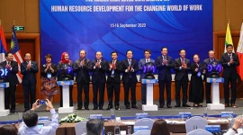 The ASEAN Ministers' meeting for human resources development