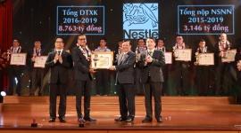 Nestlé Việt Nam được Bộ Tài chính vinh danh top 30 đơn vị nộp thuế tiêu biểu
