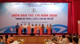 Quảng Ninh: Sôi nổi Diễn đàn trẻ em năm 2020