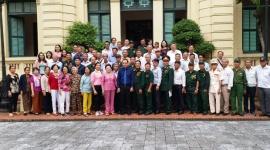 Hơn 50 đại biểu người có công Đồng Nai thăm Bộ Lao động-Thương binh và Xã hội