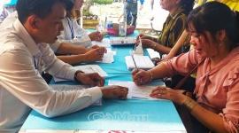 Hiệu quả phiên giao dịch việc làm ở Cà Mau