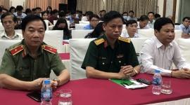 150 cán bộ, phóng viên, biên tập viên tham gia lớp tập huấn bồi dưỡng kiến thức quốc phòng và an ninh