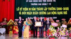 Trường Cao đẳng Y tế Quảng Trị tổ chức Lễ kỷ niệm 20 năm ngày thành lập