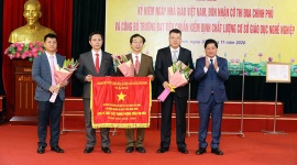 Trường Cao đẳng Cơ điện và Xây dựng Bắc Ninh công bố trường đạt tiêu chuẩn kiểm định chất lượng