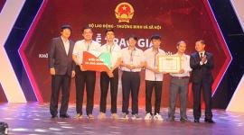 Giải nhất cuộc thi Startup Kite thuộc về nhóm sinh viên Trường CĐ Nghề Lý Tự Trọng