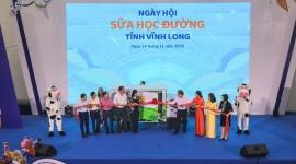 Hơn 46.300 học sinh tỉnh Vĩnh Long được thụ hưởng Sữa học đường năm  học 2020 - 2021