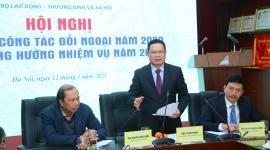 Bộ Lao động - Thương binh và Xã hội tổng kết công tác đối ngoại năm 2020 và phương hướng nhiệm vụ năm 2021