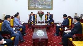 Bộ trưởng Đào Ngọc Dung: Samsung cần nghiên cứu việc đào tạo nâng cao tay nghề của lao động tại doanh nghiệp