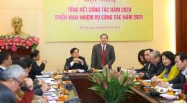 Cục Người có công tổng kết công tác năm 2020 và triển khai nhiệm vụ công tác năm 2021