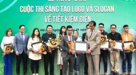 Trao giải cuộc thi Sáng tạo logo và slogan về tiết kiệm điện