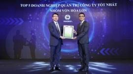 """Vinamilk là công ty duy nhất và đầu tiên của Việt Nam được vinh danh """"Tài sản đầu tư có giá trị của Asean"""""""
