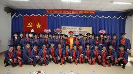 Trường Trung Cấp Việt Hàn trao Bằng tốt nghiệp cho 50 học viên Ngành Y học Cổ truyền