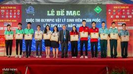 Bế mạc Olympic Vật lý sinh viên, Đội tuyển VLUTE nhất toàn đoàn