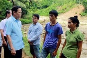 Bộ Lao động - Thương binh và Xã hội hỗ trợ bà con vùng lũ Thanh Hóa