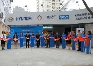 Khánh thành công trình cải tạo và nâng cấp xưởng thực hành sửa chữa ô tô cho thanh niên có hoàn cảnh khó khăn tại Hà Nội