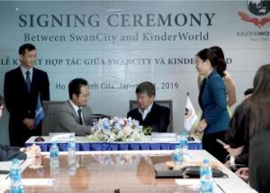 SwanCity hợp tác cùng KinderWorld phát triển hệ thống giáo dục chuẩn Singapore tại SwanBay