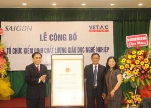 Saigon Academy ra mắt Trung tâm Kiểm định chất lượng giáo dục nghề nghiệp