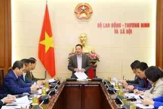 Bộ Lao động – Thương binh và Xã hội họp Ban chỉ đạo phòng, chống dịch COVID-19