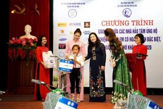 Hà Nội: Giao lưu giữa các doanh nghiệp ủng hộ từ thiện với trẻ em có hoàn cảnh khó khăn