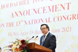 1.587 đại biểu dự Đại hội XIII của Đảng