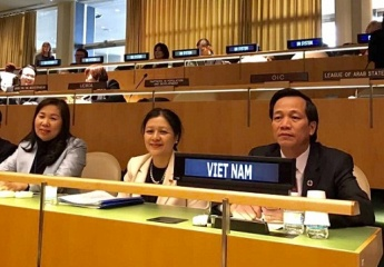 Minister Dao Ngoc Dung attended the 61st session of Joint Committee on the Status of Women (CSW-61) in New York, USA