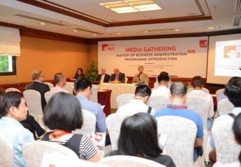 Đại học Anh Quốc Việt Nam khởi động Chương trình thạc sỹ Quản trị kinh doanh