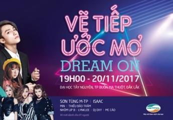 Viettel mang đại nhạc hội Dream On đến Tây Nguyên