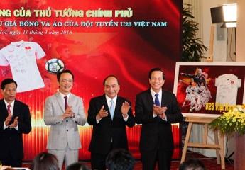 20 tỷ đồng đấu giá áo thi đấu của U23 Việt Nam được dùng để xây nhà tại 20 huyện nghèo trên cả nước