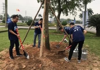 Habeco tổ chức Lễ trồng cây hưởng ứng Giờ Trái đất 2018