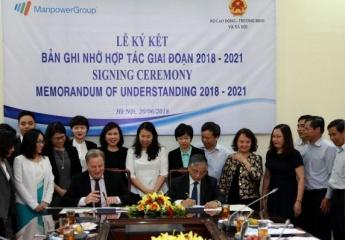 ManpowerGroup cam kết tiếp tục hợp tác phát triển thị trường nhân lực Việt Nam