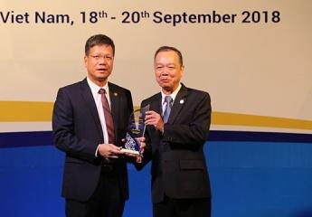 BHXH Việt Nam vinh dự nhận giải thưởng về CNTT tại Hội nghị ASSA 35
