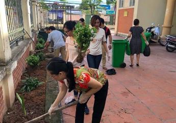 Trung tâm Cung cấp dịch vụ CTXH Hà Nội: Chung tay cải tạo môi trường sống tại cộng đồng dân cư