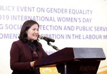 Talk looks for ways to foster women's participation in labour market