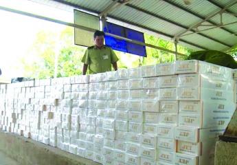 Tổng Công ty Thuốc lá Việt Nam kiến nghị Bộ ngành đẩy mạnh công tác chống buôn lậu thuốc lá